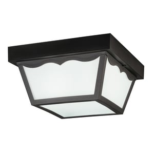 Kichler Lighting 5-1/2 in. 2-Light Outdoor Flushmount Fixture KK9322