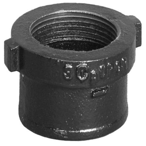 No-Hub x FNPT Cast Iron Cleanout Less Plug NHCO
