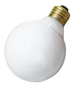 Satco 25W G25 Dimmable Incandescent Light Bulb with Medium Base SA3640