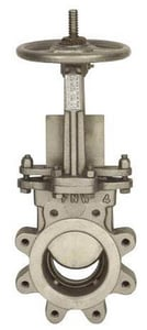 FNW 316L Ductile Iron Stainless Steel Knife Gate Valve FNW62B