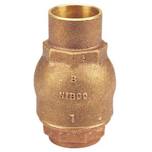 Nibco 250# Bronze Solder Vertical Check Valve NS480Y