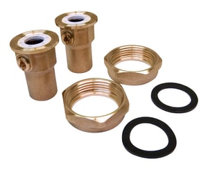 Grundfos Bronze Union Iso Valve Set G519850