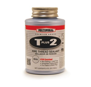 Rectorseal T Plus 2® 1/4 pt Pipe Joint Compound in White REC23631