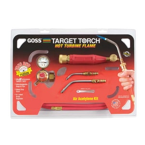 Goss Target™ Snap-In Target Acetylene Torch Kit GKX3B