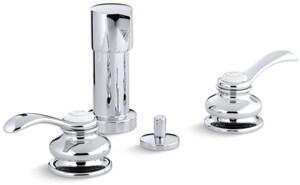Kohler Fairfax® Double Lever Handle Vertical Bidet Faucet K12286-4