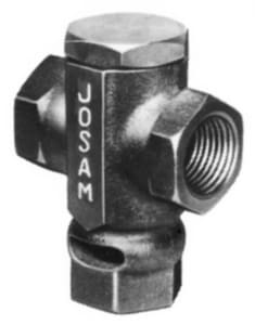 Josam 1/2 in. IPS Trap Seal Primer Valve in Bronze J88250