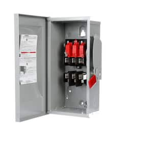 Siemens Energy & Automation 3 in. 240/250V 3-Pole Fusible Safety Switch with Neutral SGF32N