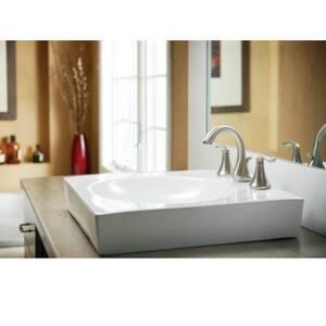 Moen Eva™ Widespread Lavatory Faucet with Double Lever Handle MT6420