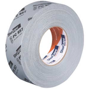 Shurtape PC 857 2 in. x 60 yd. Grey Waterproof Cloth Duct Tape SPC857K60GR
