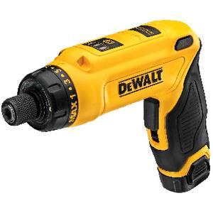 DEWALT 1/4 in. 8V Screwdriver Kit DDCF680N2