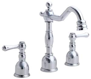 Danze Opulence® Mini Widespread Lavatory Faucet with Double Lever Handle DD303157