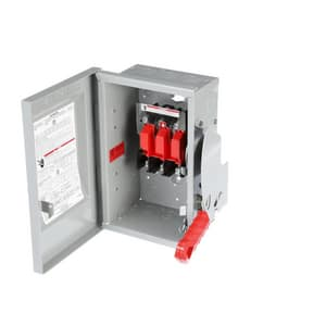 Siemens Energy & Automation 250/480/600V 3-Pole Non-Fusible Safety Switch SHNF36