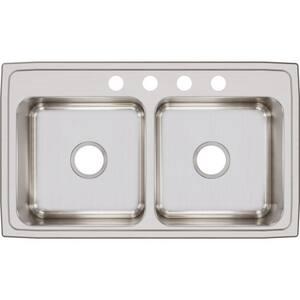 Elkay Gourmet® 2-Bowl Top Mount Kitchen Sink ELR3319