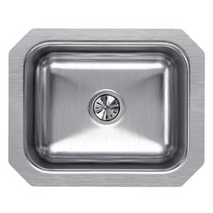 Elkay Harmony™ 1-Bowl Undermount Bar Sink in Lustrous Highlighted Satin EELUH129