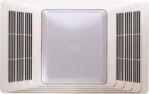 Broan Nutone Fan/Light White Plastic Grill 70 CFM B657