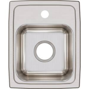 Elkay Lustertone® Single Hole Kitchen Sink ELR13161
