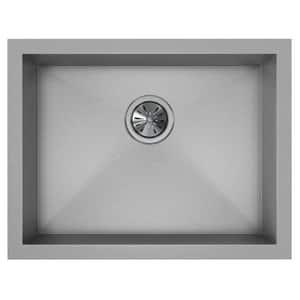 Elkay Crosstown™ 1-Bowl Undermount Sink Kit in Polished Satin EEFU211510