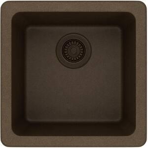 Elkay Gourmet E-Granite™ E-Granite Single Bowl Dual/Universal Mount Bar Sink EELG15150