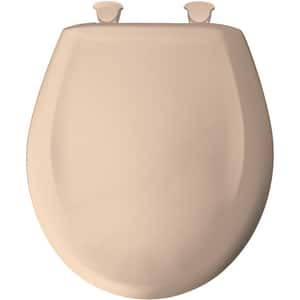Bemis Whisper-Close® 16-3/4 in. Round Toilet Seat in Desert Bloom B200SLOWT643