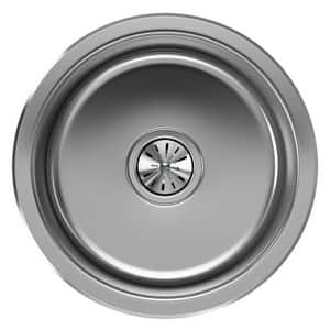 Elkay The Mystic® 16-3/8 x 16-3/8 x 7 in. Single-Bowl Bar Sink in Soft Highlighted Satin EEGUH16FB
