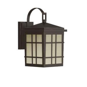 Park Harbor® Ambler 60W 11-1/8 in. 1-Light Medium E-26 Wall Sconce in Oil Rubbed Bronze PHEL1600ORB