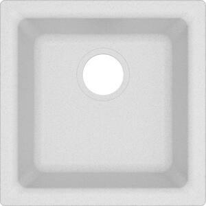 Elkay Quartz Classic® 15-3/4 x 15-3/4 in. No-Hole Single Bowl Dual Mount Bar Sink EELG16160
