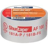 Shurtape AF 100 2-1/2 in. 60 yd. Foil Tape in Silver SAF100L60