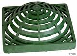 NDS 9 x 9 in. Atrium Grate Green N991