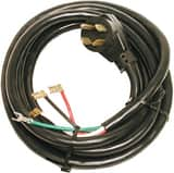 Dial 14/4 x 84 in. 2-Speed Angle Plug Motor Cord in Black D7524