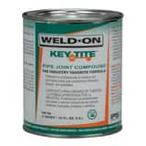 Weld-On® 505™ Key-Tite® 1 qt Metal Green Pipe Joint Compound I10063