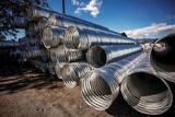 Pacific Corrugated Pipe 12 in. x 10 ft. Corrugated Steel Corrugated Pipe CP121016GA
