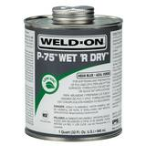 IPS Corporation P-75™ Wet 'R Dry™ 1 qt PVC Blue Primer I10248