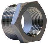 2 x 1/2 in. Threaded 150# 316 Stainless Steel Bushing IS6BSTBSP114KD