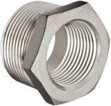 4 x 2-1/2 in. Threaded 150# 304 Stainless Steel Bushing IS4CTBSP114PL