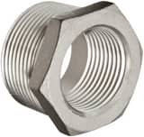 1/2 x 3/8 in. Threaded 150# 304 Stainless Steel Global Bushing IS4BSTBSP114DC
