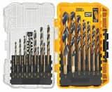 DEWALT 17-Piece 1/16 - 1/2 in. Black Oxide Drill Bit Set DDW1167