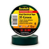 3M Scotch® 3/4 in. x 66 ft. Electric Vinyl Tape in Green 3M05400710851