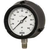 WIKA XSEL™ 4-1/2 in. Brass Dry Pressure Gauge W9834117 at Pollardwater