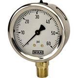 WIKA Bourdon 2-1/2 in. 600 psi Standard Pressure Gauge W9699168 at Pollardwater
