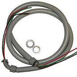 Thomas & Betts 6 ft. x 1/2 in. 10 ga Liquid-Tight Conduit Whip Wire TLTWM12610