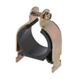 Cooper B-Line VibraClamp™ 1-1/4 in. Zinc-Plated Iron Strut Clamp with Cushion BBVP125YZN