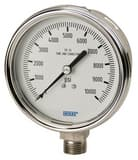 WIKA Bourdon 2-1/2 in. 60 psi Dry Pressure Gauge W9744851 at Pollardwater