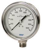WIKA Bourdon 2-1/2 in. 60 psi Dry Pressure Gauge W9744851 at Pollardwater