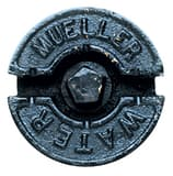 Mueller Company 1 in. Upper Section Curb Box Lid with Plug M89376 at Pollardwater