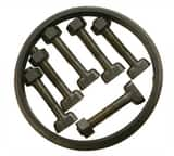 PROSELECT® IMJBGP Series 12 in. Mechanical Joint C153 Ductile Iron and SBR Bolt Gasket Pack (Less Gland) IMJBGP12