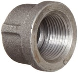 1-1/4 in. Threaded 150# Black Malleable Iron Cap IBCAPH