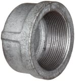 Threaded 150# Galvanized Malleable Iron Cap IGCAP