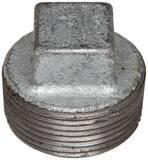 Threaded 150# Galvanized Malleable Iron Plug IGP