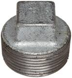 Threaded 125# Galvanized Malleable Iron Cored Plug IGCP