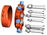 EBAA Iron MEGAFLANGE® Flange Adapter E2100